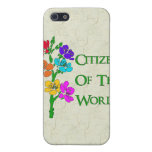 Citizen Of The World iPhone 5 Case