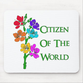 Citizen of the World Mouse Pad