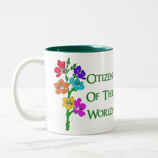 Citizen Of The World Coffee Mug
