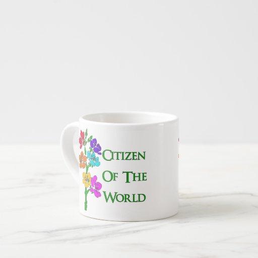 Citizen Of The World Espresso Cups