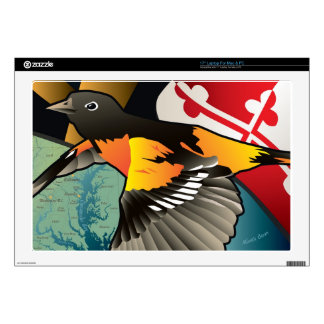 Citizen Oriole, Maryland's State Bird Laptop Decal