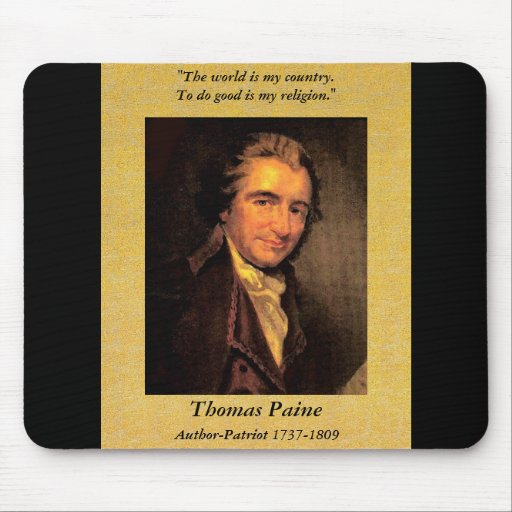 Citizen Paine - Mousepad