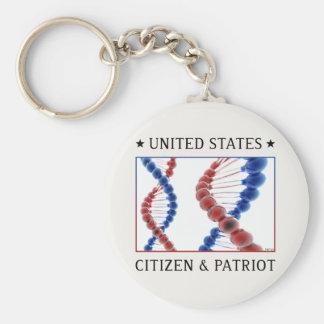 Citizen & Patriot Keychain