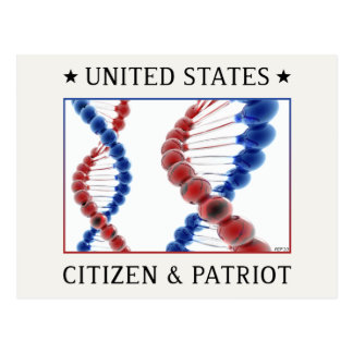 Citizen & Patriot Postcard