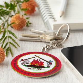 Citizen Potawatomi Nation Basic Round Button Keychain