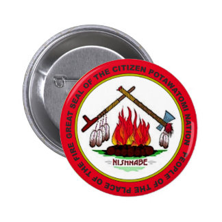 Citizen Potawatomi Seal Button