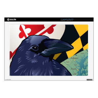 Citizen Raven, Maryland's Nevermore Decals For Laptops