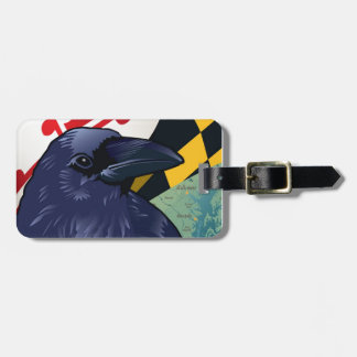 Citizen Raven, Maryland's Nevermore Luggage Tag