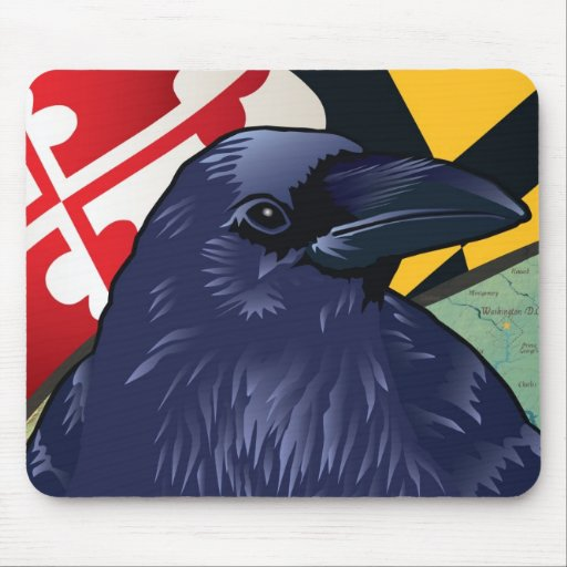Citizen Raven, Maryland's Nevermore Mousepad