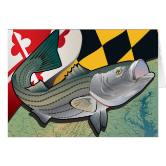 Citizen Rockfish of Maryland Card