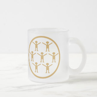 CITIZEN SCIENCE! FROSTED GLASS COFFEE MUG