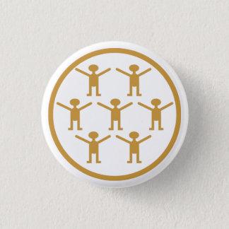 Citizen science! who need a postgrad degree?! pinback button