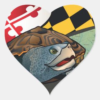 Citizen Terrapin, Maryland's Turtle Heart Sticker