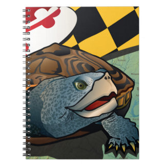 Citizen Terrapin, Maryland's Turtle Spiral Note Book