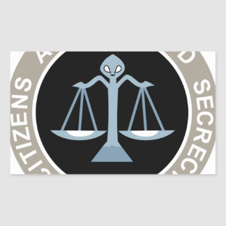 Citizens Against UFO Secrecy Patch. Stickers