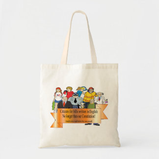 citizens' challenge budget tote bag