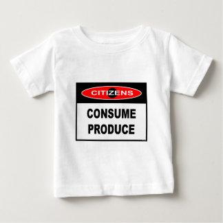 CITIZENS -  CONSUME PRODUCE T-SHIRT