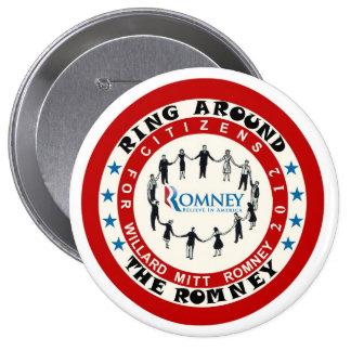 Citizens for Willard Mitt Romney 2012 Pinback Button