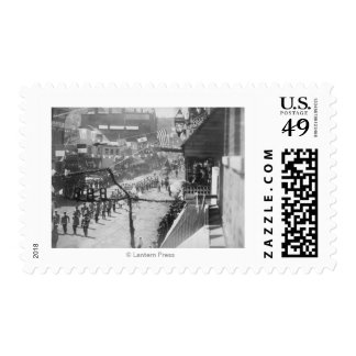 Citizens of Deadwood Celebrate Completion of 2 Postage Stamp