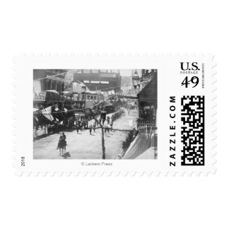 Citizens of Deadwood Celebrate Completion of 3 Postage Stamp
