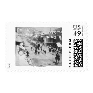 Citizens of Deadwood Celebrate Completion of Stamps