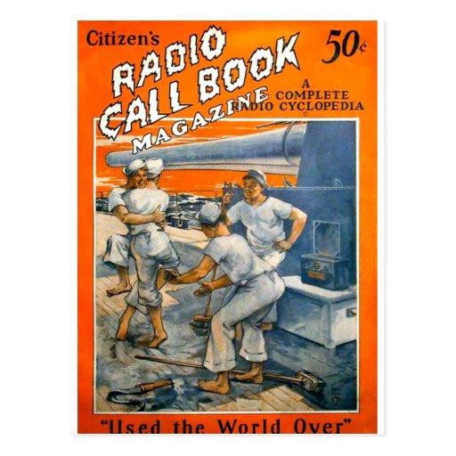 Citizens Radio Callbook 1 Postcards
