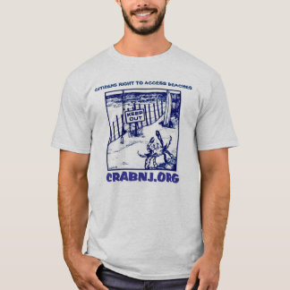 Citizens' Right to Access Beaches Tee Shirt