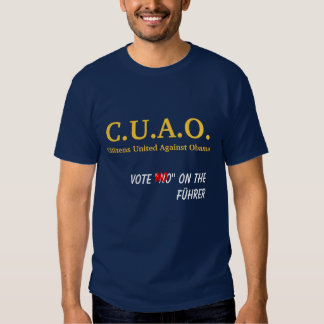 Citizens United Against Obama T-Shirt