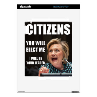 CITIZENS YOU WILL ELECT ME DECALS FOR iPad 2