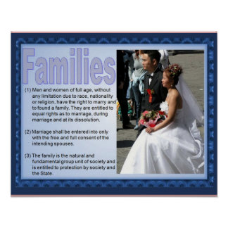 Citizenship, Human rights,Family life Poster