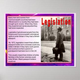 Citizenship, Immigration, Legislation Poster