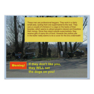 Citizenship, Professional beggars Poster