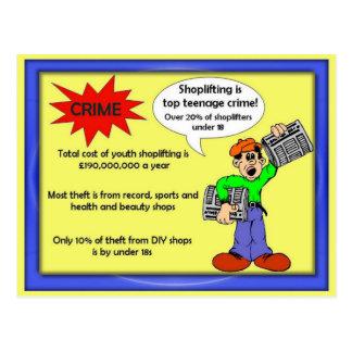 Citizenship, Shoplifting Postcard
