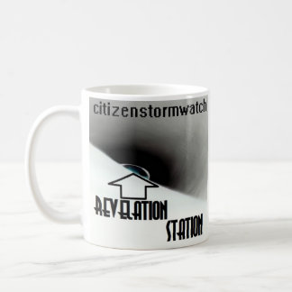 "citizenstormwatch ""Revelation Station"" album cover Coffee Mug"