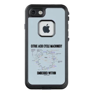 Citric Acid Cycle Machinery Embedded Within Krebs LifeProof FRĒ iPhone 7 Case