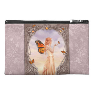 Citrine Birthstone Fairy Art Accessory Bag