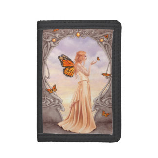 Citrine Birthstone Fairy TriFold Wallet