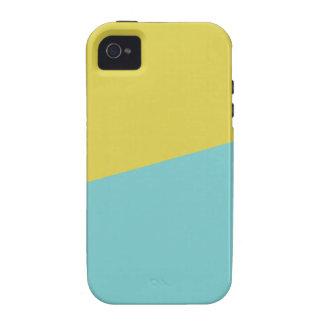 Citrine Blue iPhone 4 Cases