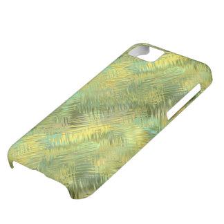 Citrine Yellow Glassy Texture iPhone 5C Case