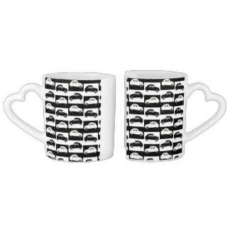 Citroen 2 CV Coffee Mug Set