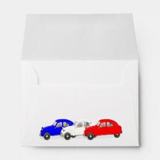 Citroën 2 CV Envelopes