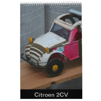 Citroen 2 CV French Car Calendar 2018