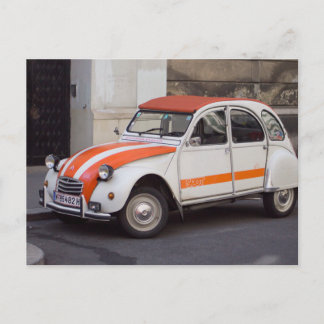 Citroën 2 CV  Spot Postcard