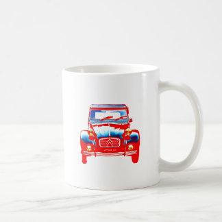 Citroen 2CV 2 Coffee Mugs