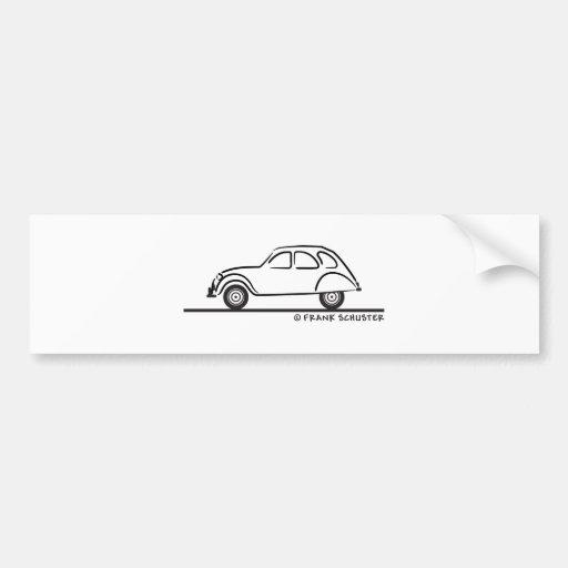 Citroen 2CV Bumper Sticker