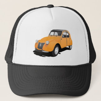 Citroën 2CV, orange Trucker Hat