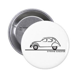 Citroen 2CV Pinback Button