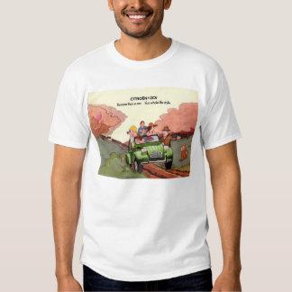 Citroen 2CV sales brochure T-shirt