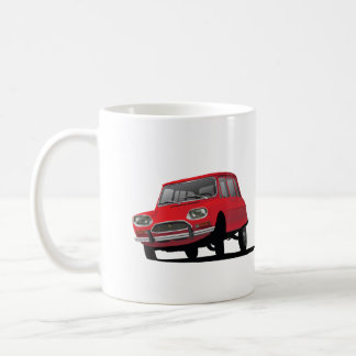 Citroën Ami 8, red – 2 image coffee mug