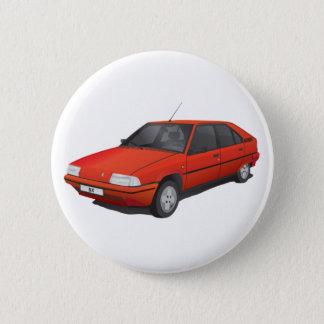 Citroën BX red Pinback Button
